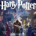 """Новая обложка к американскому издательству """"Гарри Поттер и философский камень"""""""