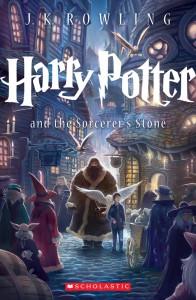 """Новая обложка к американскому изданию книги """"Гарри Поттер и философский камень"""""""
