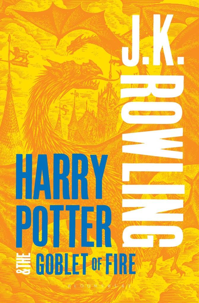 """Новая обложка книги """"Гарри Поттер и Кубок огня"""" в Британии"""
