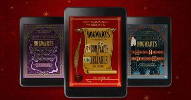 Роулинг выпустит три новых книги про Хогвартс