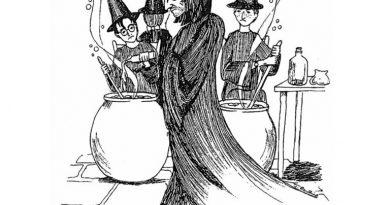 Джоан Роулинг оказалась замечательной художницей, что доказывают новые эскизы к Гарри Поттеру