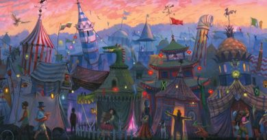 Первые иллюстрации Джима Кея для книги «Гарри Поттер и Кубок Огня»