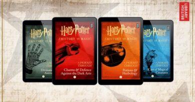 Четыре книги о волшебном мире напишет вовсе не Роулинг: Новые книги от Британской библиотеки